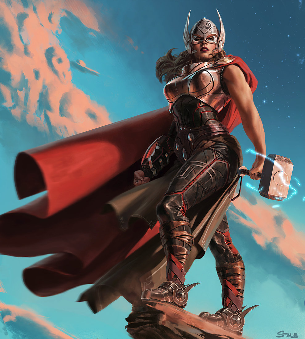 If we had female thor for the quot infinity war quot movies marvelstudios