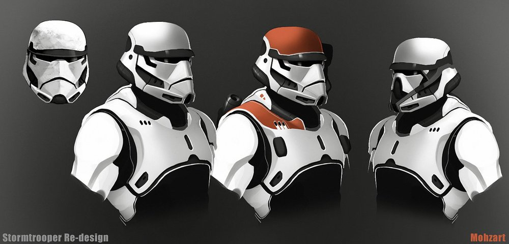 Rogue One Stormtrooper Variants : StarWars