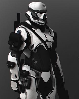 Star wars fan art stormtrooper elite and darth vader - Stormtrooper suit wallpaper ...