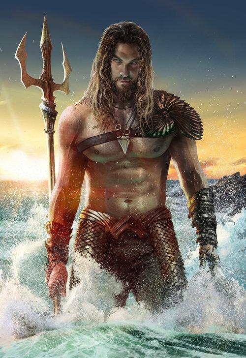 God Of  the sea  - Magazine cover