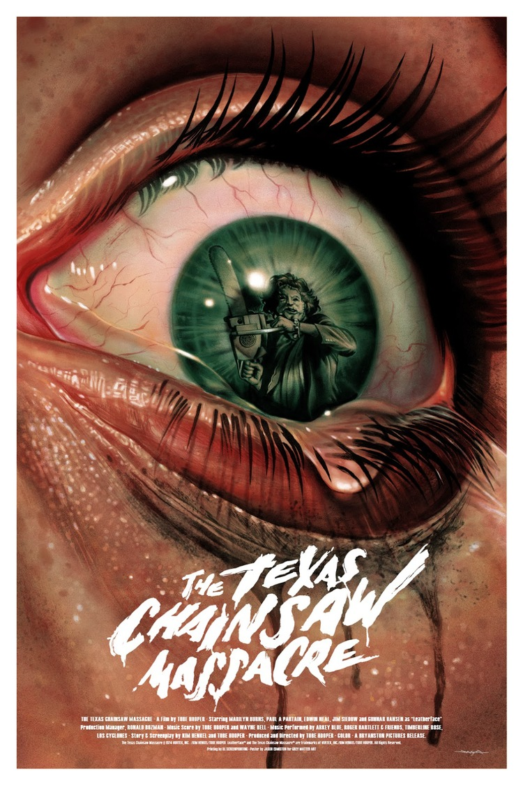 terrifying fan art for the texas chainsaw massacre — geektyrant