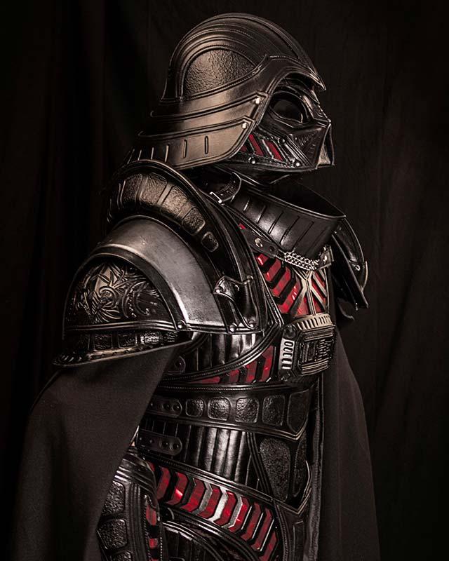 Terrifying Medieval DARTH VADER Armor GeekTyrant