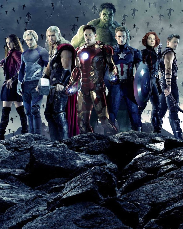 Have avengers age of ultron characters happens. can