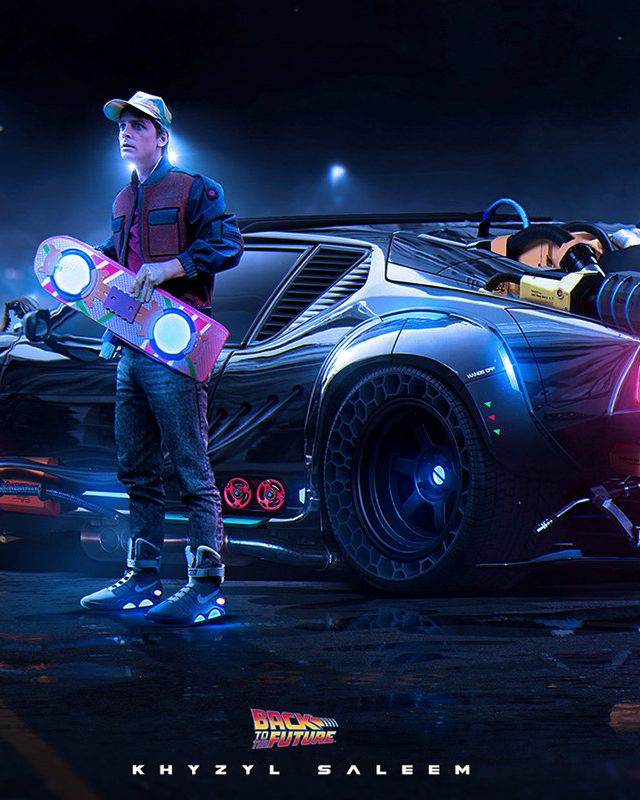 what would an updated back to the future time machine look like   u2014 geektyrant