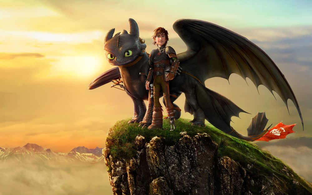 To train pictures dragon how your