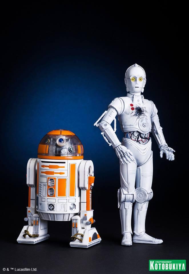 Kotobukiya-R3-A2-K-3PO-statues jpg K 1 Stars War