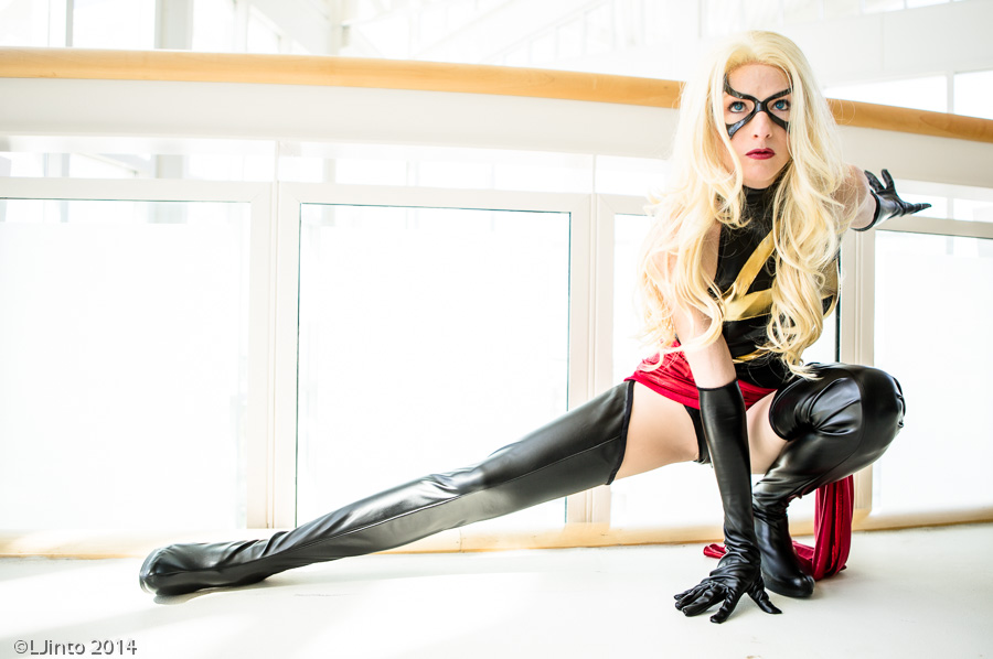 AmazonMandy  is Ms. Marvel — Photo by  LJinto