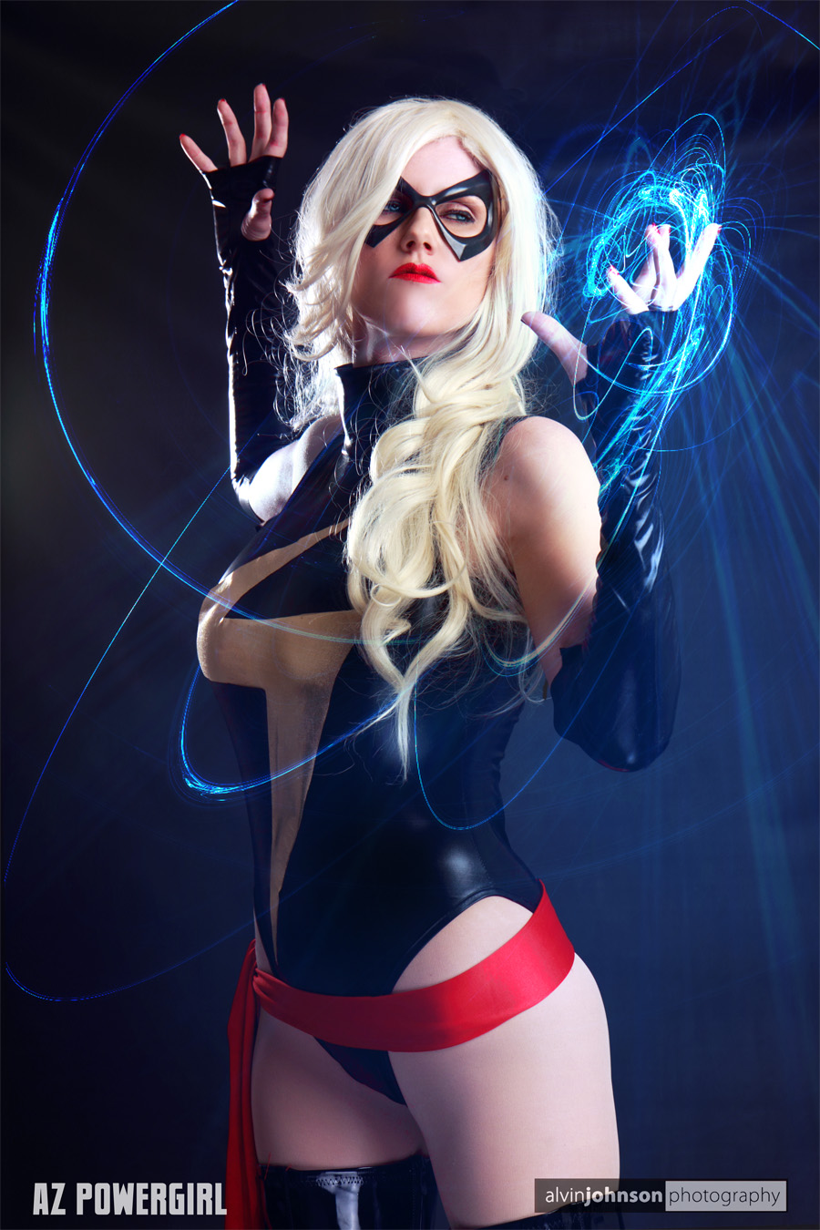 AZPowergirl  is Ms. Marvel — Photo by  Alvin Johnson