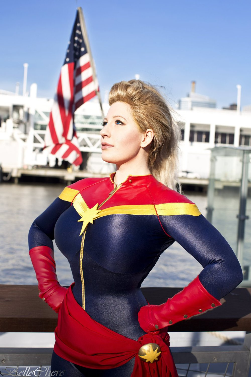 Belle Chere  is Captain Marvel