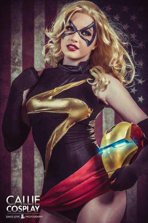 Callie Cosplay  is Ms. Marvel — Photo by  David Love