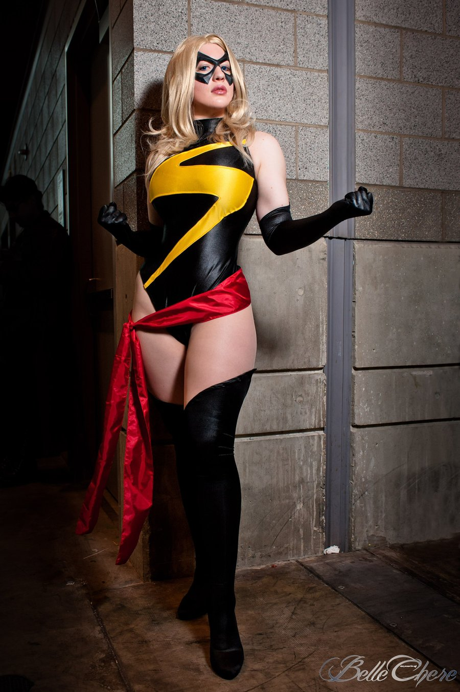 Belle Chere  is Ms. Marvel