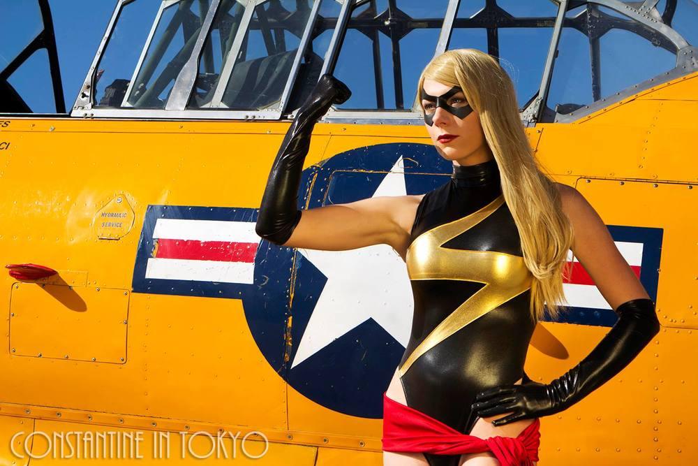 Constantine in Tokyo  is Ms. Marvel