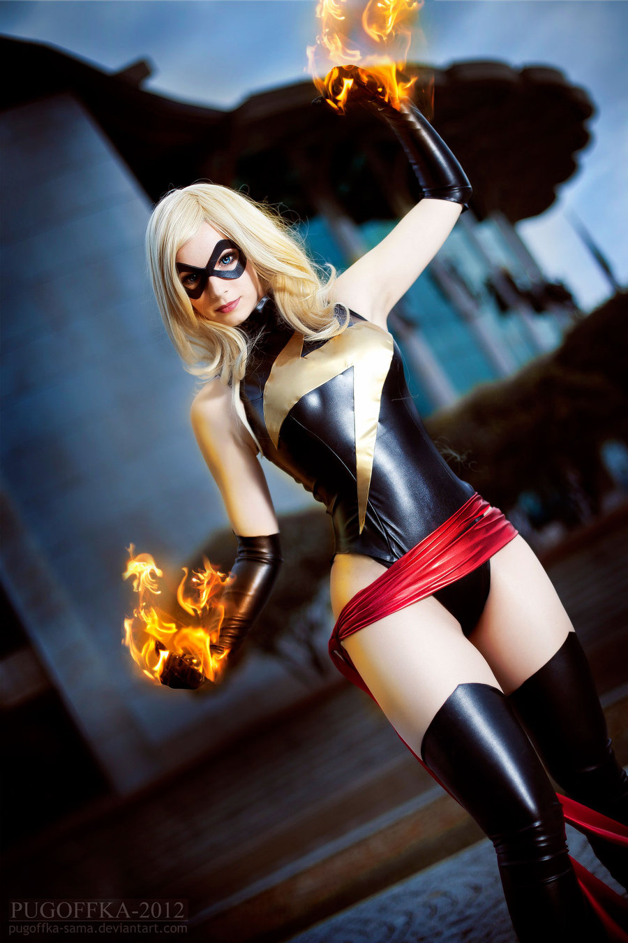 Enjinight  is Ms. Marvel