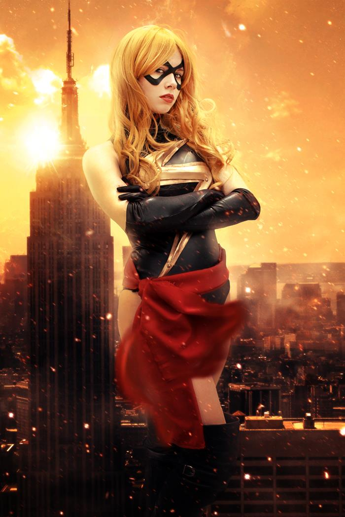 Florencia Sofen Holland  is Ms. Marvel — Photo by  Clint and Jillian