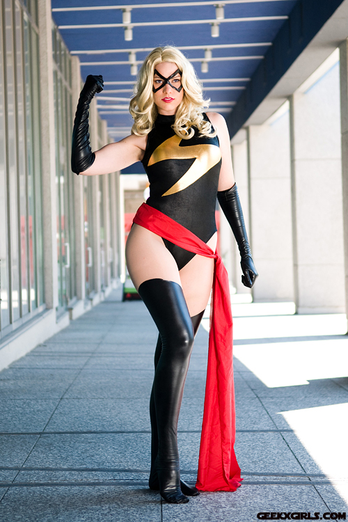 Gilly Kins  is Ms. Marvel