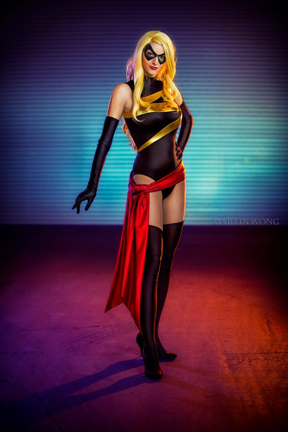Katie George  is Ms. Marvel — Photo by  Martin Wong