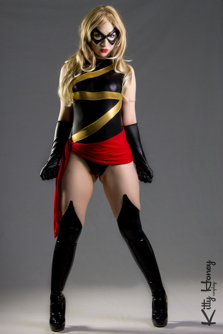 Kitty Honey  is Ms. Marvel — Photo by  Magic Alex