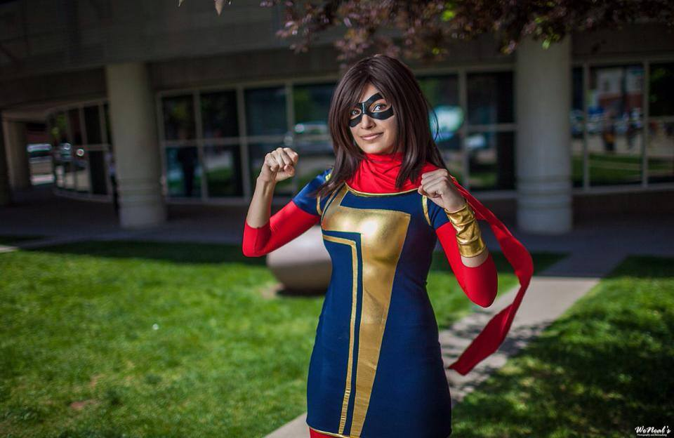 Meevers Desu  is Ms. Marvel — Photo by  Weneals