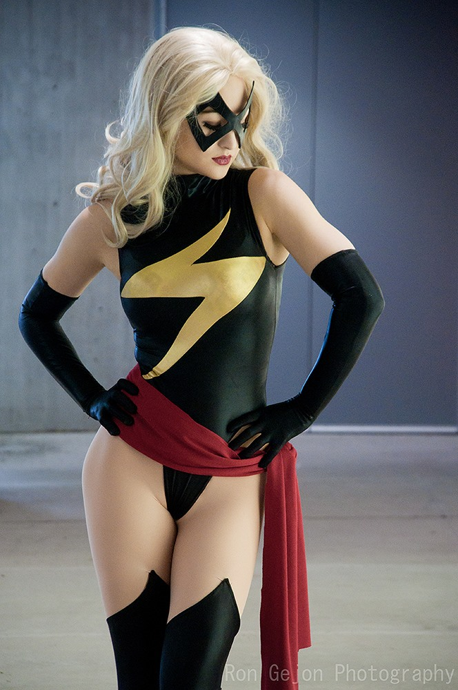 Most Flogged  is Ms. Marvel — Photo by  RonGejon