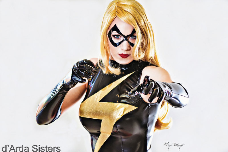 dArdaSisters  is Ms. Marvel — Photo by  Vapor