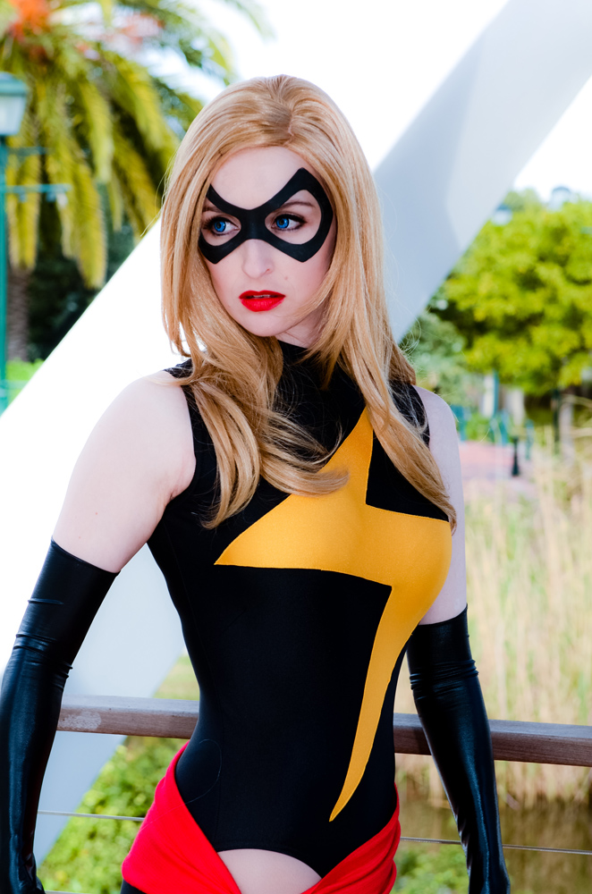 Sasha Perdigao  is Ms. Marvel — Photo by  Fierypurpose