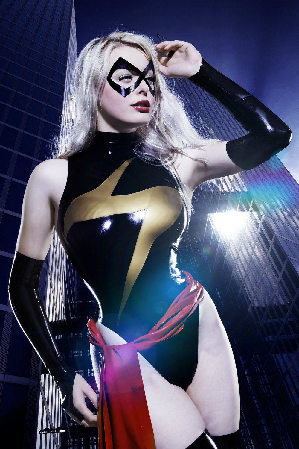 Valerie Virgin  is Ms. Marvel