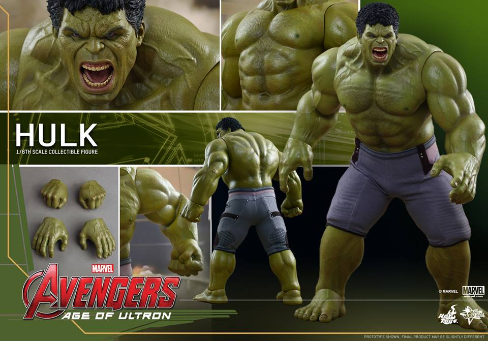 Hot Toys AVENGERS  AGE OF ULTRON Hulk Action FigureHot Action Figure