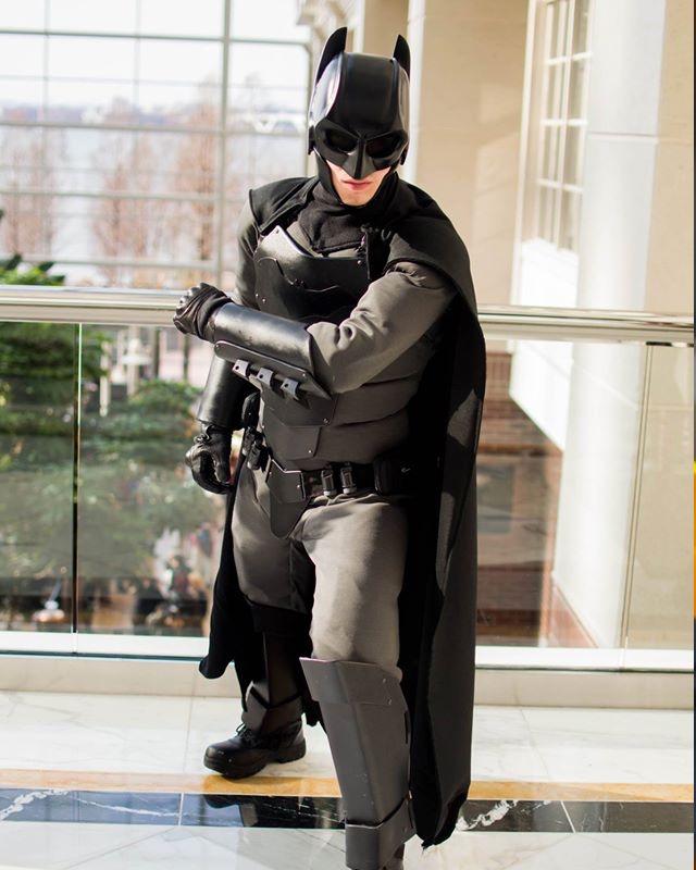 Бэтмен костюм фото своими руками