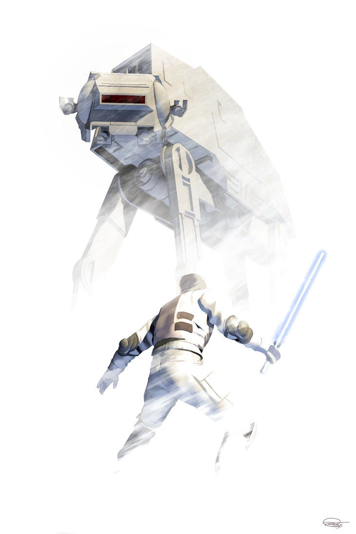 star-wars-fan-art-hoth-atat-vader