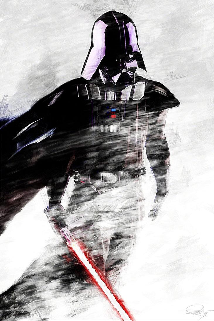 star-wars-fan-art-hoth-atat-vader2