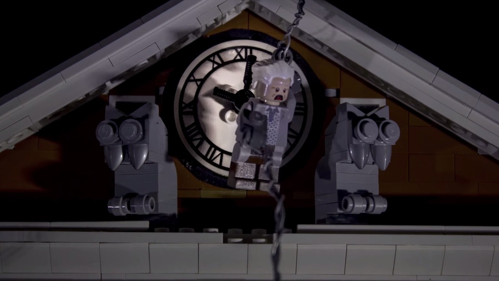 Lego Back To The Future Recreates Clock Tower Sequence