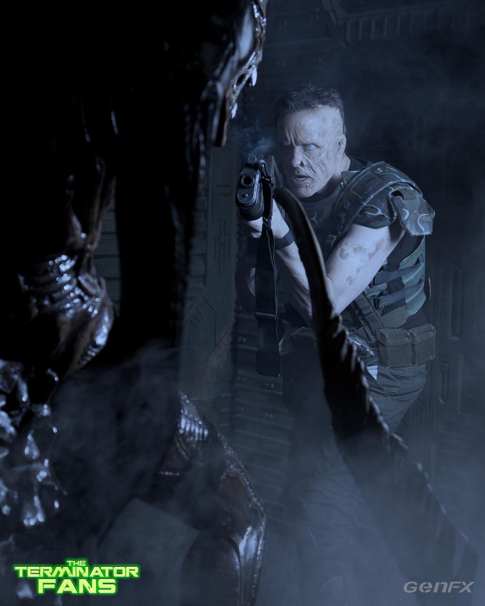 Alien Movie: Badass Makeup Test Photos For Corporal Hicks In New ALIEN