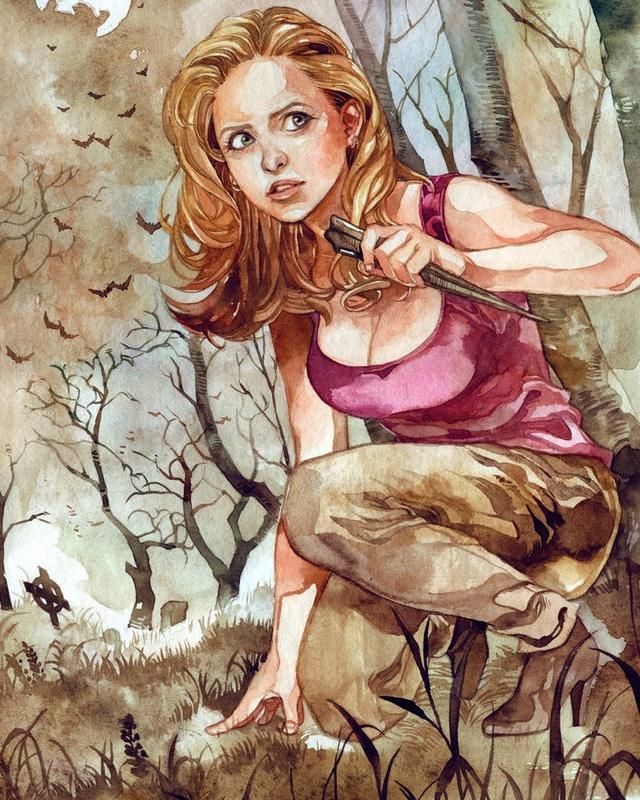 Buffy erotic fan art images 659