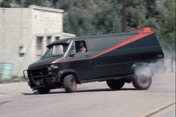 The A Team Van Would Have Looked Like This In The Sequel