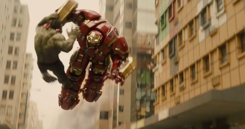 Iron Man Hulkbuster Vs Hulk Age Of Ultron