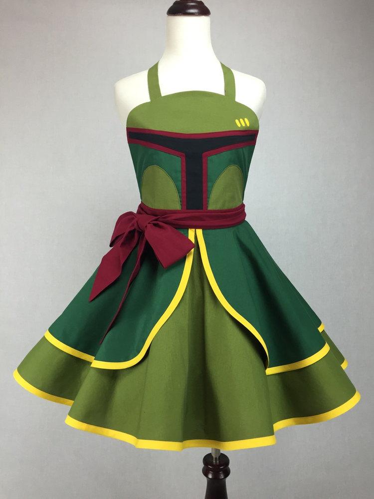 Boba Fett Pin-Up Style Cosplay Dress and More — GeekTyrant
