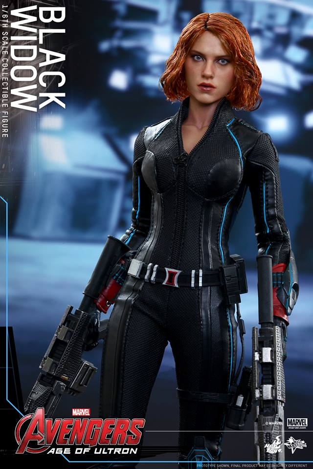 Hot Toys Black Widow Action Figure From Avengers Age Of