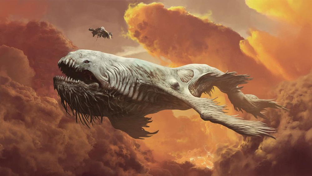 Spectacular Proof Of Concept Trailer For Sci Fi Monster Movie The Leviathan on oscar fish monster