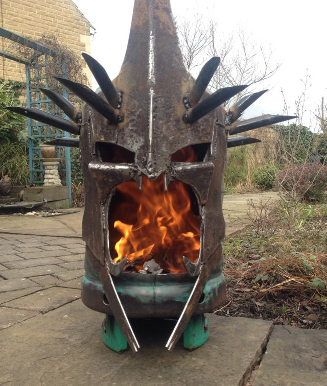 Lord Of The Rings Witch King Fire Pit Geektyrant