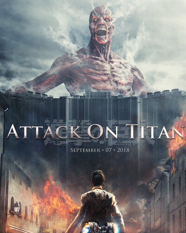 First Badass Footage From Live-Action ATTACK ON TITAN