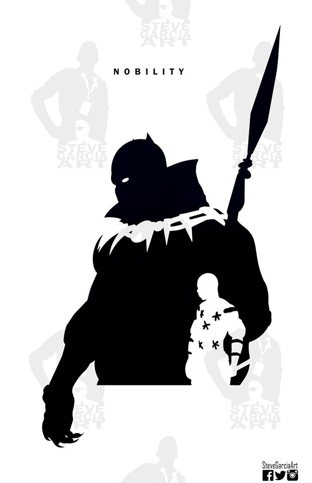 super silhouettes art series by steve garcia  u2014 geektyrant