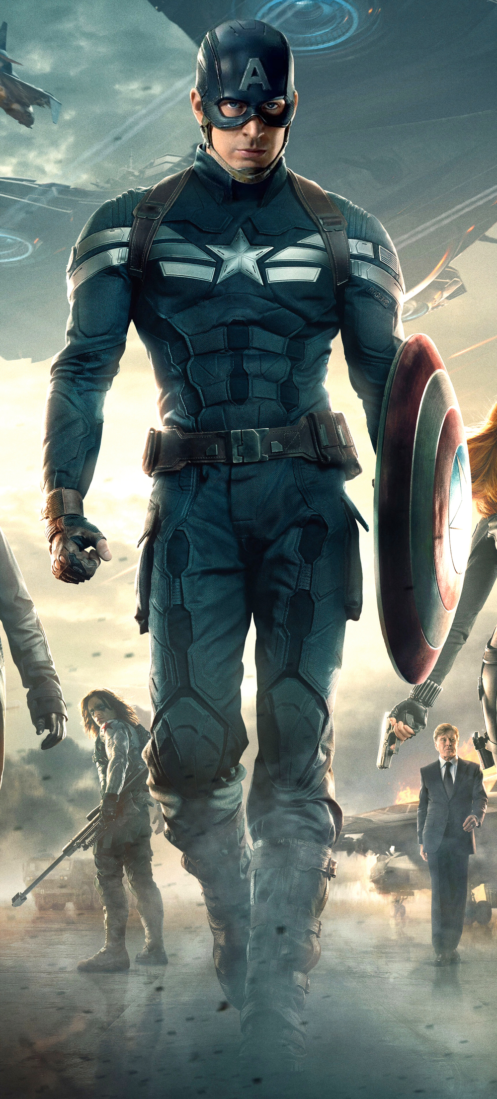 The Evolution Of Captain America's Uniform