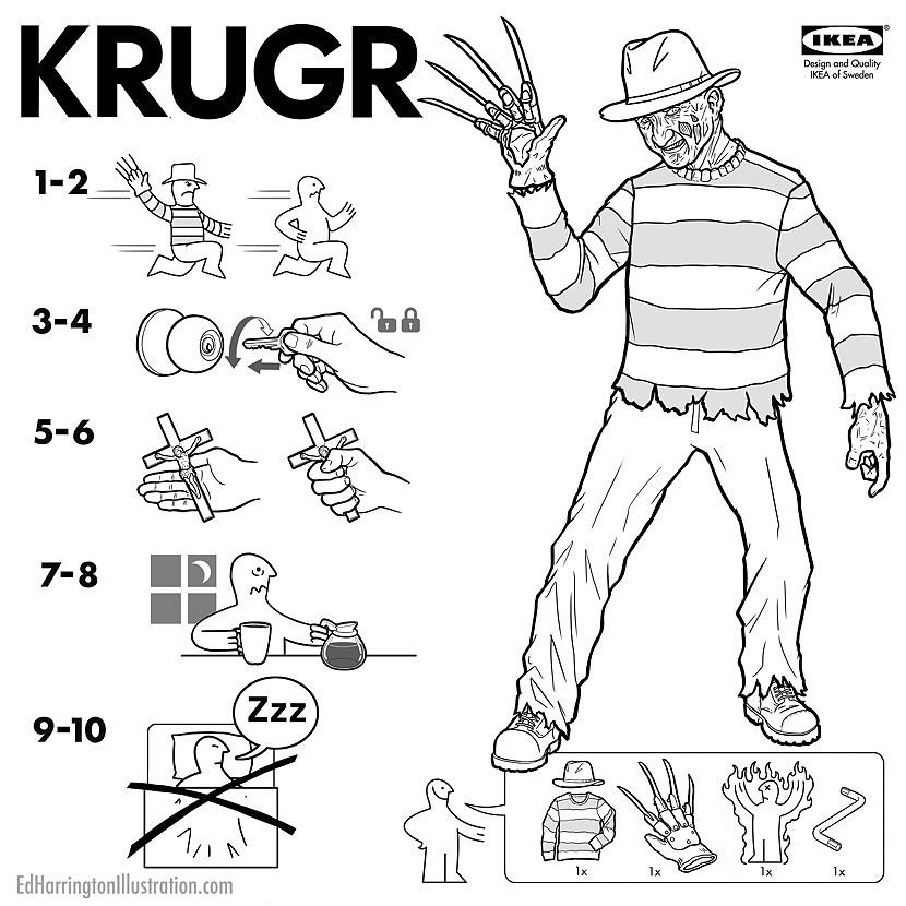 Movie Monsters With Ikea Style How Tos By Ed Harrington Geektyrant
