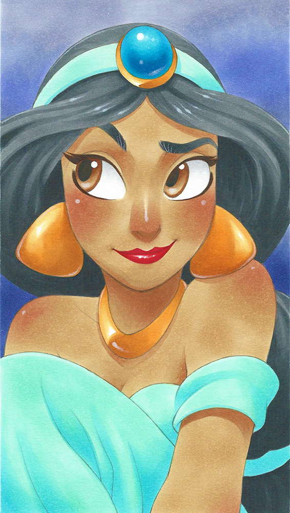 15 Times Anime Style Artists Made Disney Characters Kawaii ...