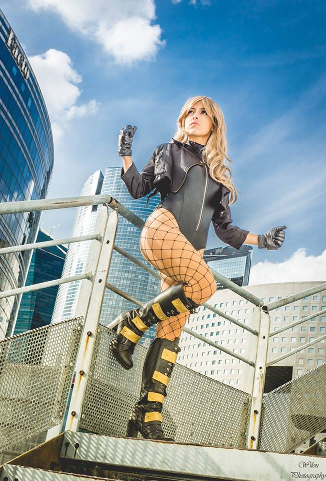 LilyOnTheMoon is Black Canary | Photography by Wilou Photography