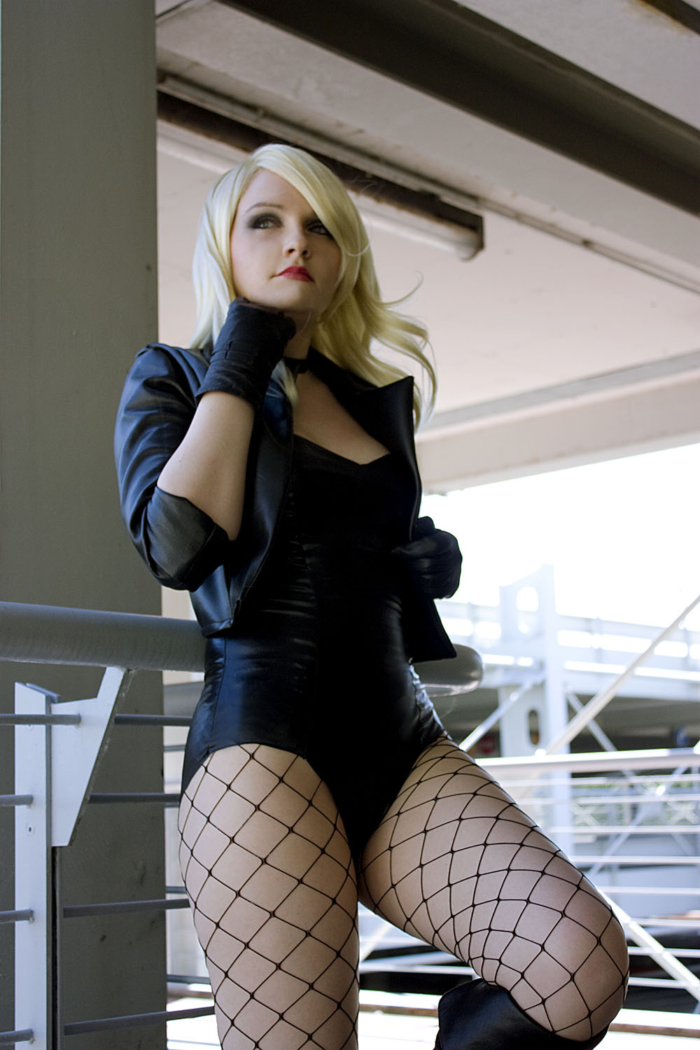 Valvaris is Black Canary | Photography by Tare Tam