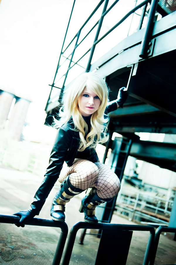 Nami06 is Black Canary | Photo by Franky-Chan