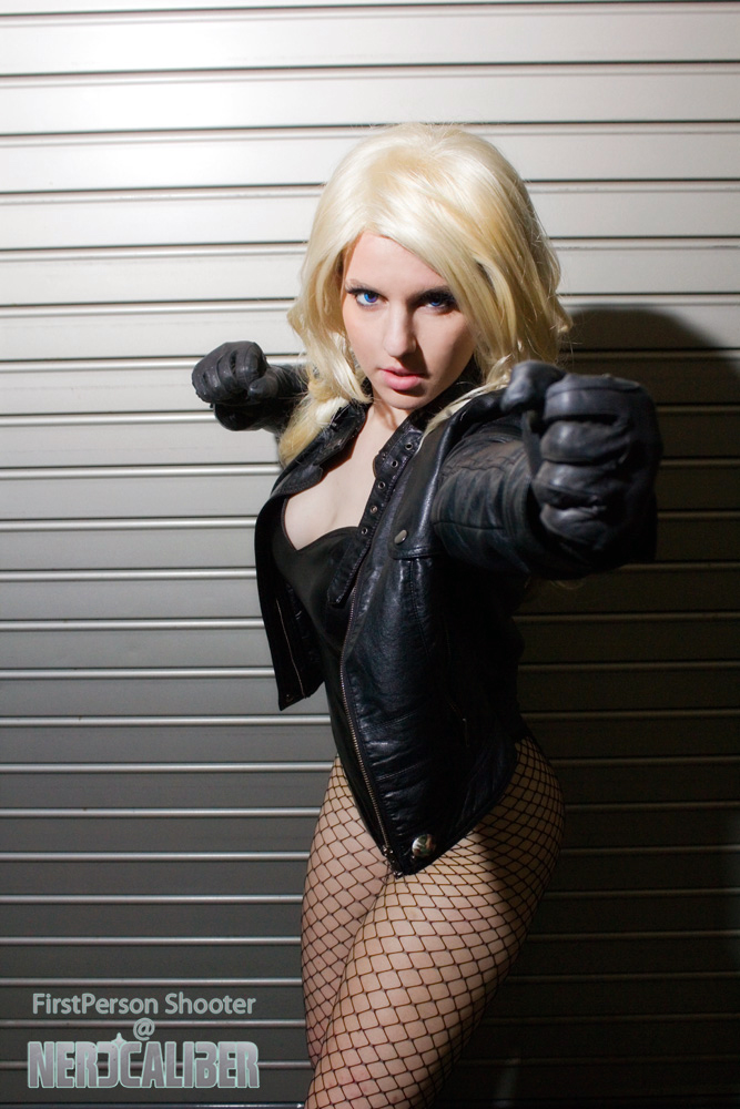 ItstheKitsuneKid is Black Canary | Photography by First Person Shooter