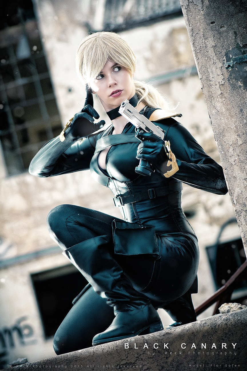 White Lemon is Black Canary | Photography by Peck