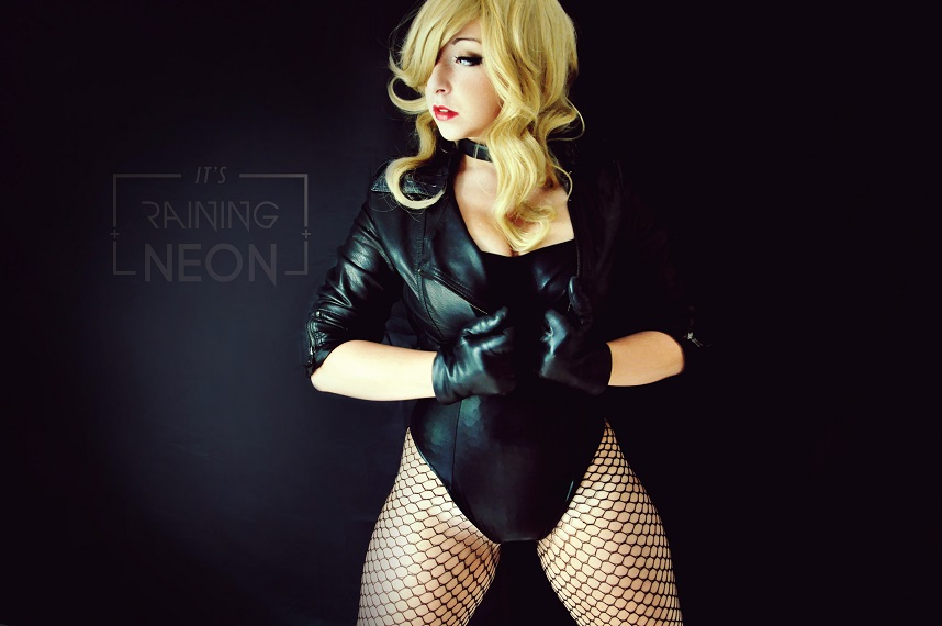 Its Raining Neon is Black Canary | Photography by Its Raining Neon